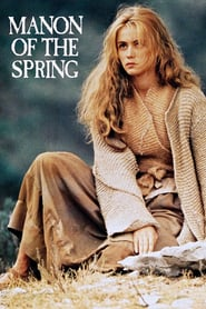 """Poster for the movie """"Manon of the Spring"""""""