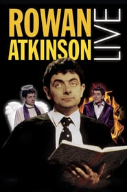 """Poster for the movie """"Rowan Atkinson Live"""""""