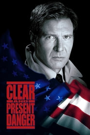 """Poster for the movie """"Clear and Present Danger"""""""