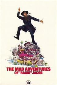 """Poster for the movie """"The Mad Adventures of Rabbi Jacob"""""""