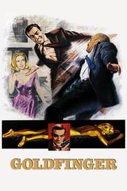 "Poster for the movie ""Goldfinger"""
