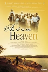"""Poster for the movie """"As It Is in Heaven"""""""