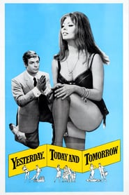 """Poster for the movie """"Yesterday, Today and Tomorrow"""""""