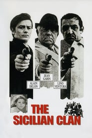 """Poster for the movie """"The Sicilian Clan"""""""