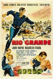 """Poster for the movie """"Rio Grande"""""""
