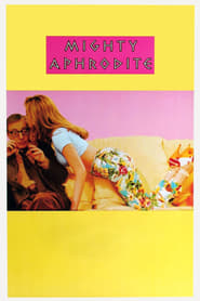 """Poster for the movie """"Mighty Aphrodite"""""""