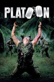"""Poster for the movie """"Platoon"""""""