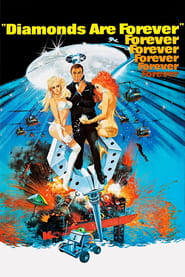 """Poster for the movie """"Diamonds Are Forever"""""""